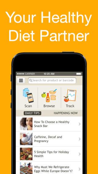 Fooducate ios app