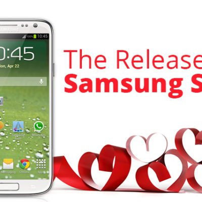 The release of Samsung Galaxy S5