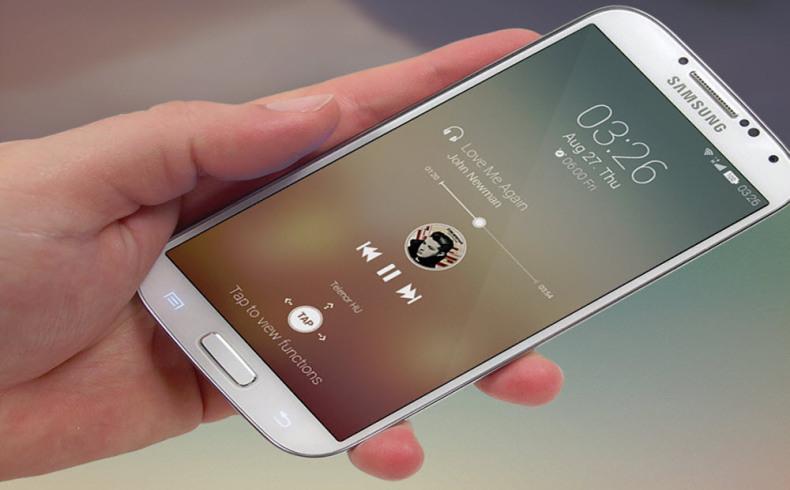 Android-5.0 UI Design Concept