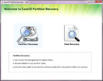 Recover From Lost Partitions