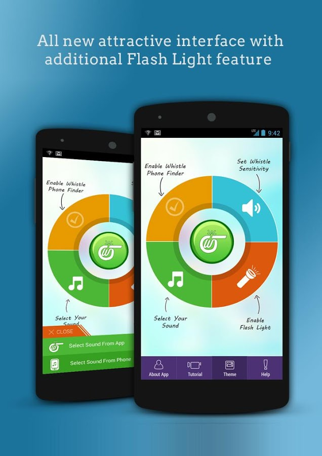 Whistle Phone Finder Android App