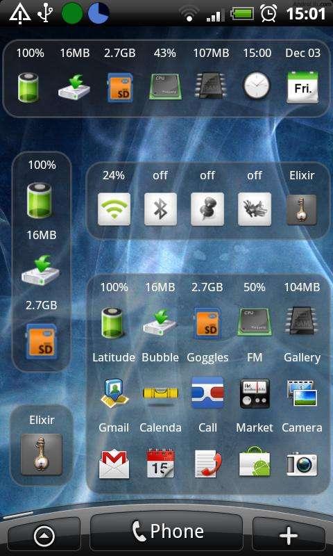 Android-widgets