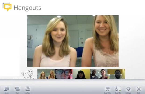 Google Hangouts Video Software