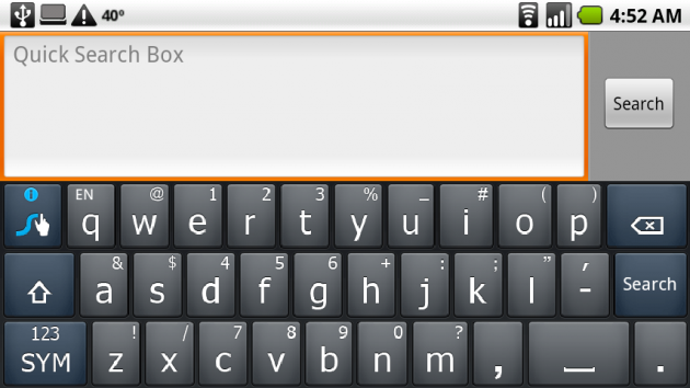 Swype Android Keyboard