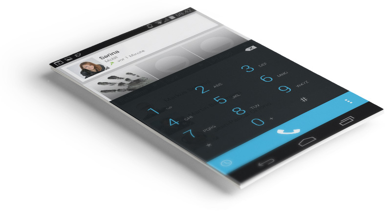 android dialling application