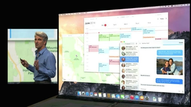 OS X 10.10 Yosemite App Extensions
