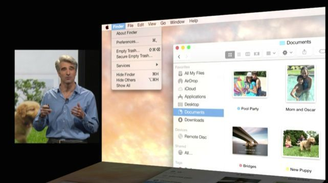 OS X 10.10 Yosemite Storyboards