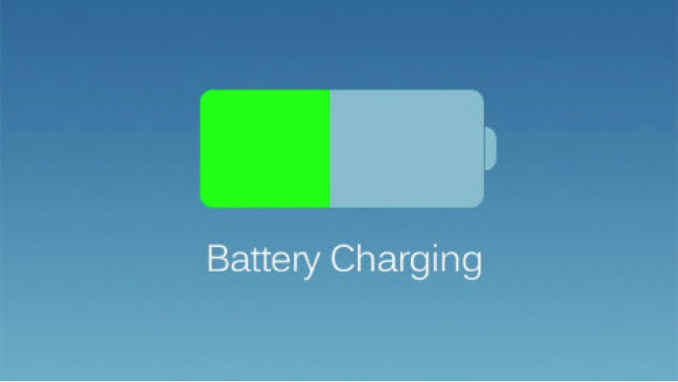 iOS 8 Battery Charging
