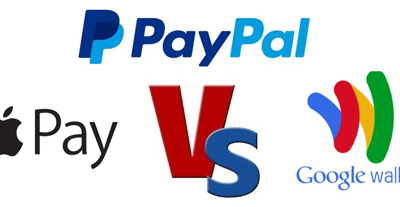 Compare NFC Online Payment Options: Apple Pay v/s Google Wallet v/s PayPal
