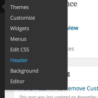 How To Implement Separate Headers For Pages in WordPress?