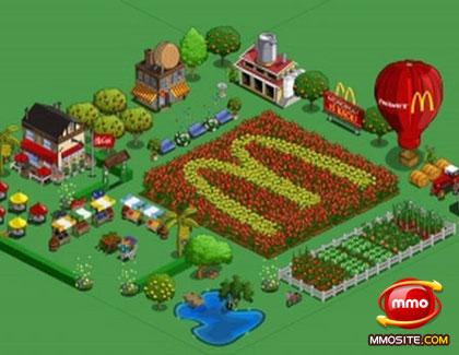 mcdonald farmer game