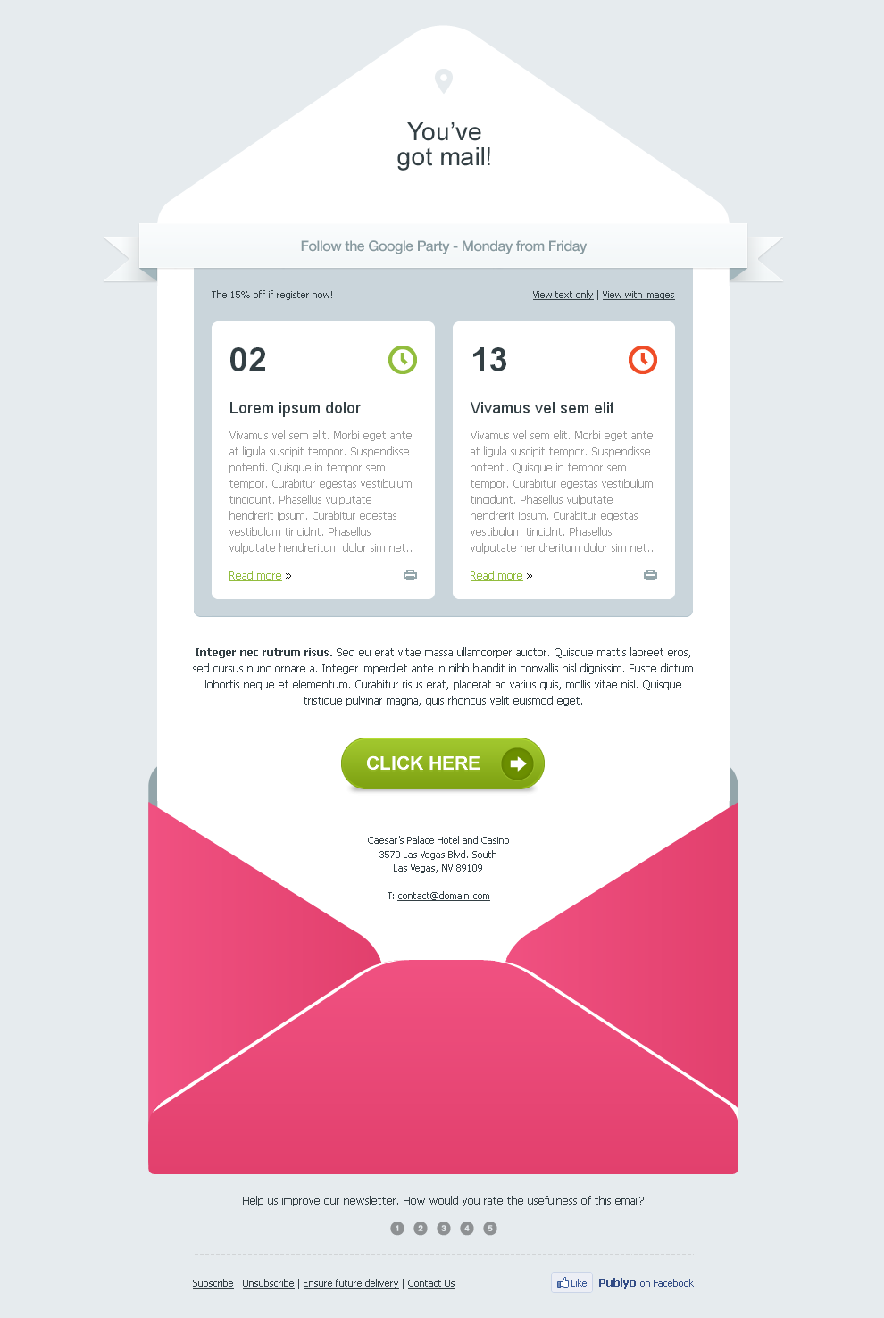 17 tips to design email templates that are inbox optimized for Designing an email template