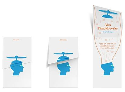 Alex Timokhovsky Business Card