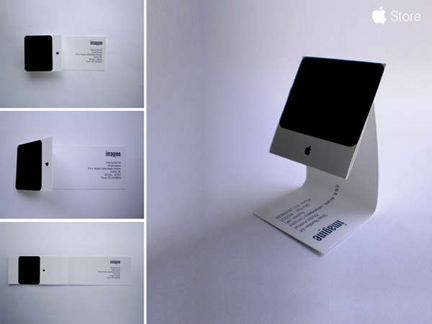 Apple iMac Business Card