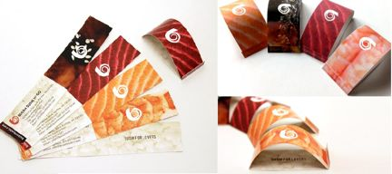 Busan Sushi Business Card