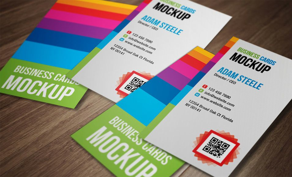 25+ Best Folded Business Card Design Examples & Ideas