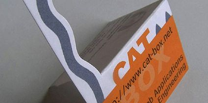 Cat-Box Business Card