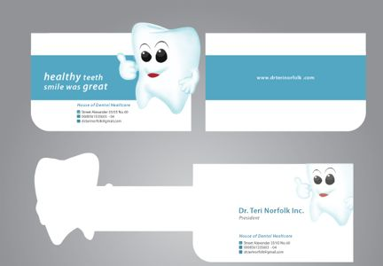 Dr. Teri Business Card Design