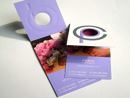 Folded Photography Business Card