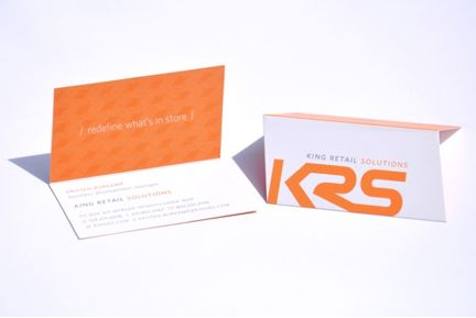 King Retail Solutions Business Card