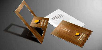 Kumthekar Furniture Business Card