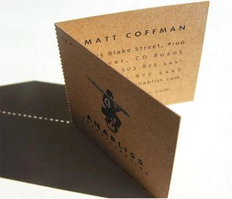 Matt Coffman Business Card