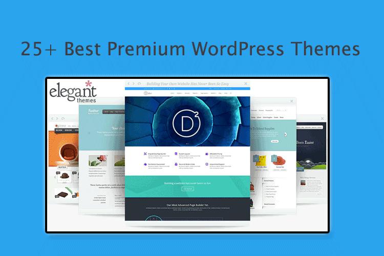 25+ Best Premium WordPress Themes From ElegantThemes