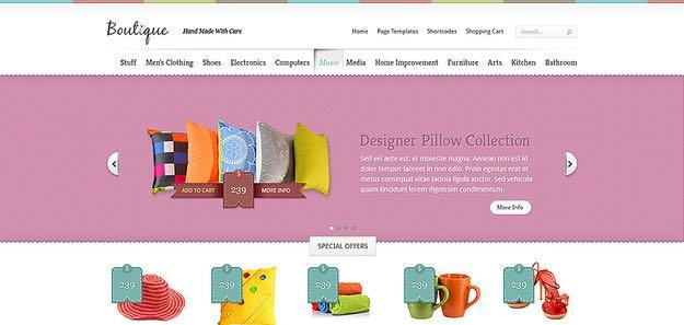 Boutique WordPress eCommerce Store Theme