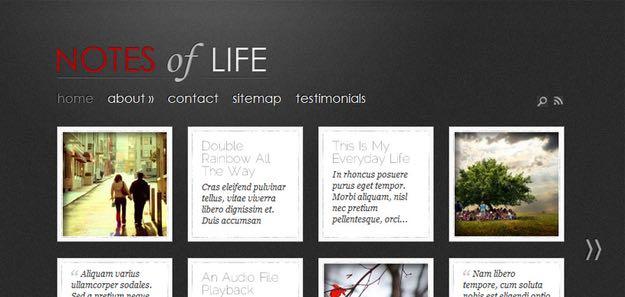 DailyNotes WordPress Personal Blog Theme