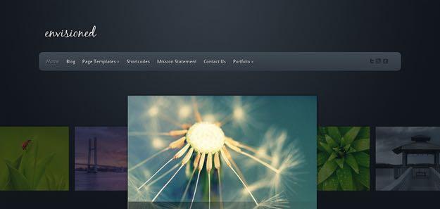 Envisioned WordPress Portfolio Theme