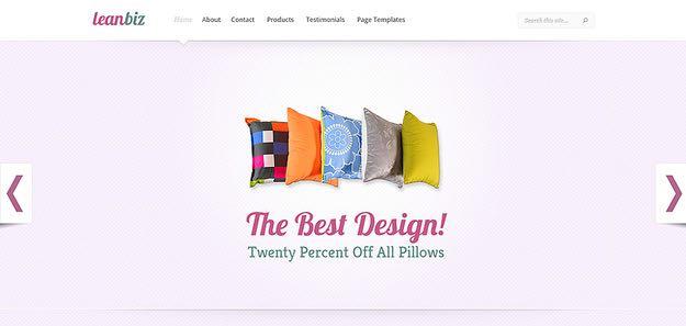 LeanBiz WordPress Business Theme