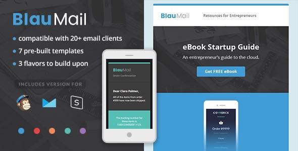 BlauMail Responsive Newsletter Template