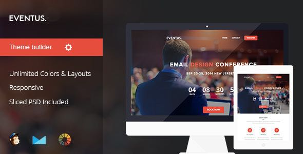 Eventus Event Conference Email Template