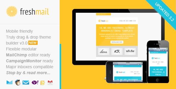 Freshmail Responsive Email with Template Editor