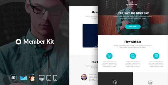 MemberKit Responsive Email Builder Access Template