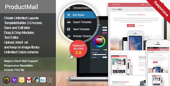 ProductMail Responsive E-mail Template