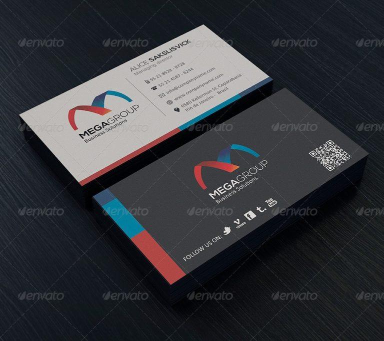 Paul Allen Business Card Template