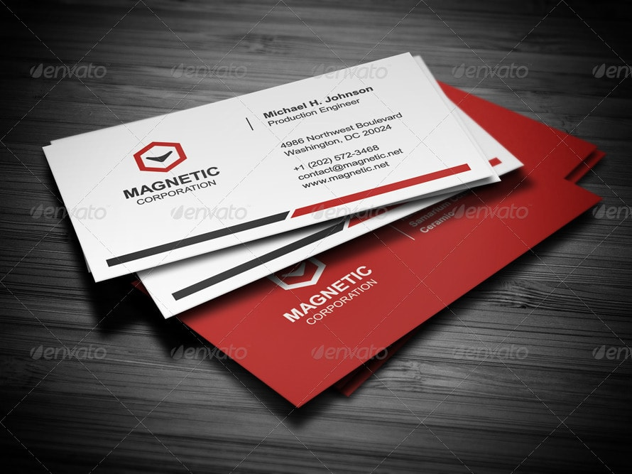 Best Business Card Templates Photoshop Designs - Cool business cards templates