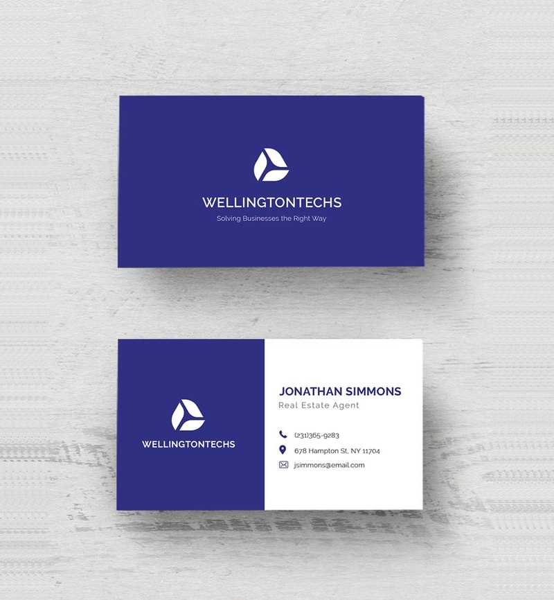 25 best business card templates photoshop designs 2017 free business card designs flashek Image collections