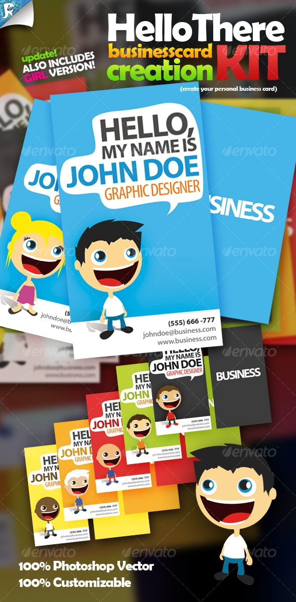 Hello There Business Card Creation Kit