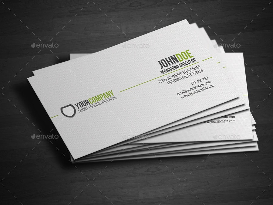 25 best business card templates photoshop designs 2017 simple business card template wajeb Image collections