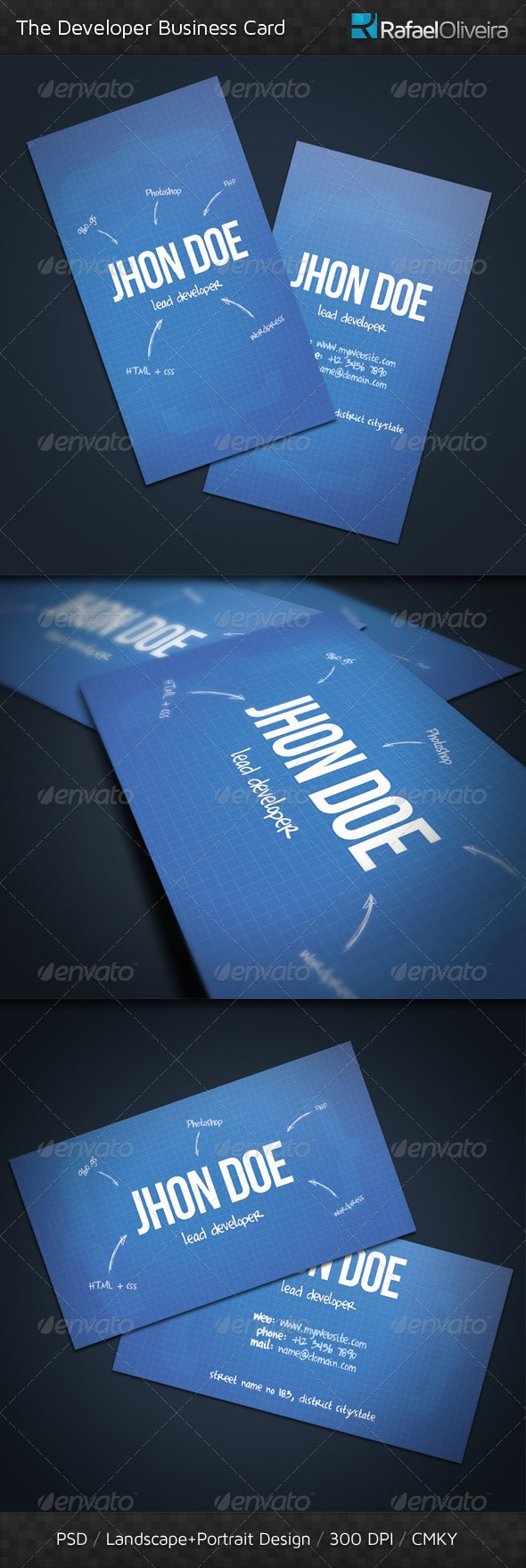 25 Best Business Card Templates (Photoshop Designs) 2017