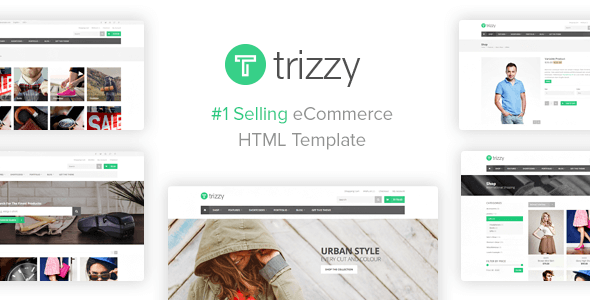 Trizzy Multi-Purpose eCommerce Shop HTML Template