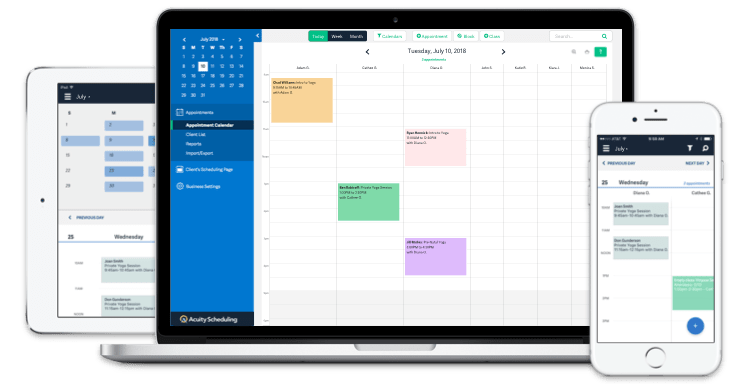 Acuity Scheduling Software-min