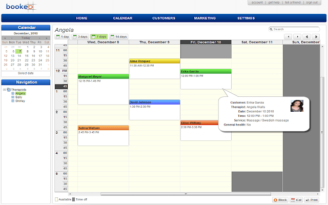 Bookeo Appointment Scheduling Software-min