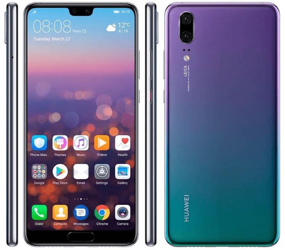Huawei P20 Review - Design